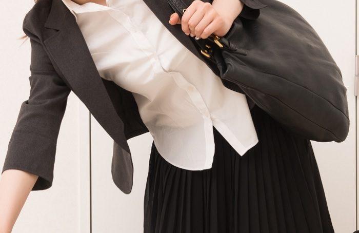 清潔そうに見えるパート面接でのスーツの着こなし方・インナーの合わせ方