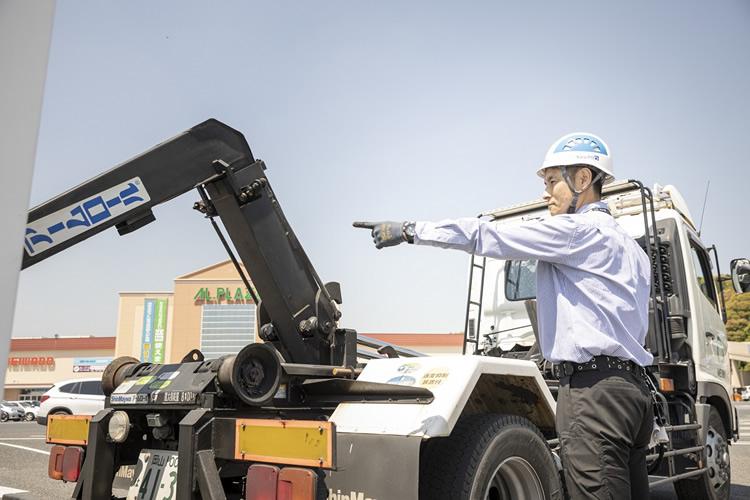 明和製紙原料株式会社は、家庭や企業から出た古紙の回収など再生資源リサイクルを行う企業です。