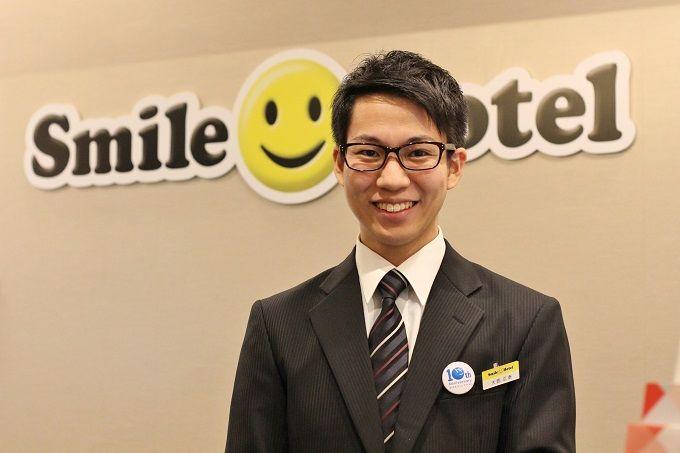 明るい笑顔でお客様にもスマイルになっていただきます。