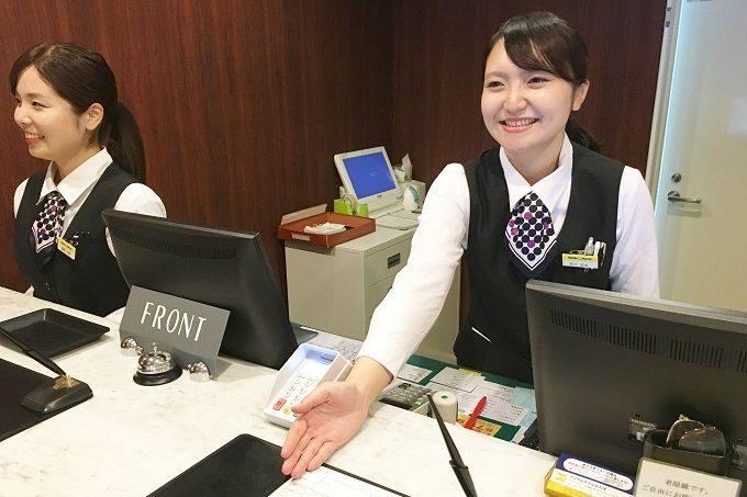 海外のお客様が宿泊されることもあります。