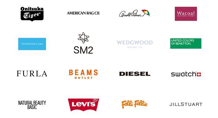 有名なファッションブランドへの派遣先を多数保有しています。